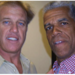 John Elway with Danny Poole